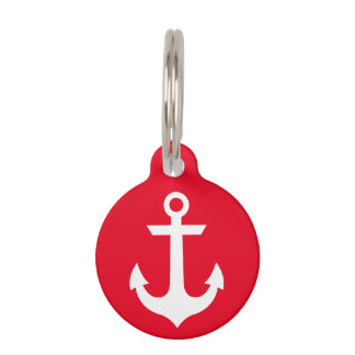 Nautical Pet ID Tag