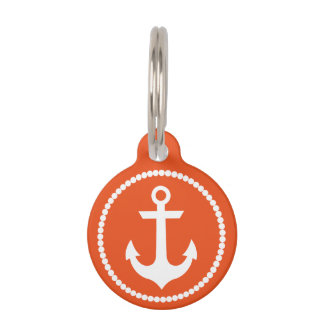 Nautical Pet Tag