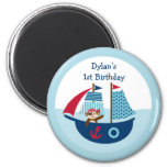Nautical Pirate Party Favor Magnets Fridge Magnets