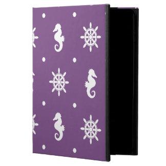 Nautical purple pattern
