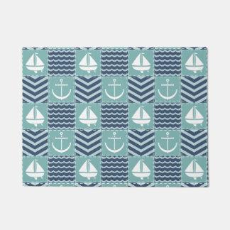 Nautical Quilt Doormat