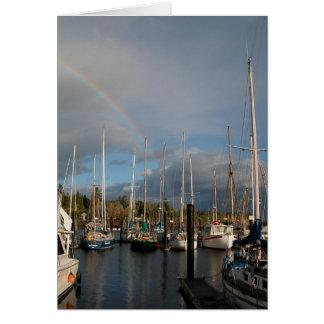 Nautical Rainbow Card