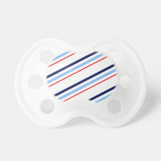 Nautical Red White Blue Stripes Dummy