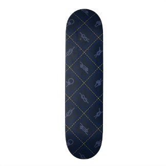 Nautical Rope Knot Pattern 21.3 Cm Mini Skateboard Deck