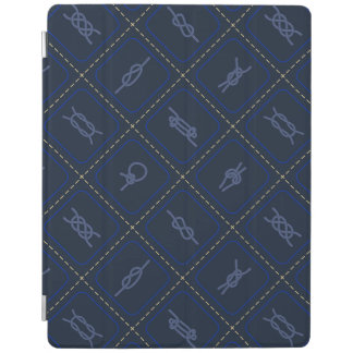Nautical Rope Knot Pattern iPad Cover