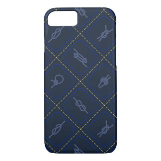 Nautical Rope Knot Pattern iPhone 8/7 Case