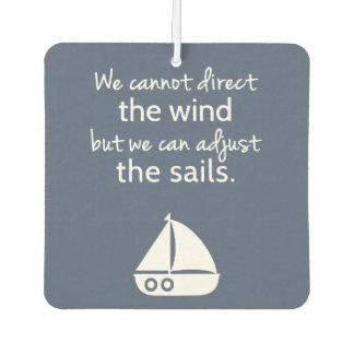 Nautical Sail boat Positive Quote Room Decor