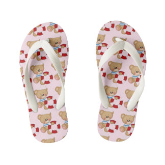 Nautical Sailor Bear Flip Flops