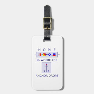 Nautical Sailor Home Luggage Tag