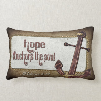 Nautical Scripture Lumbar Cushion
