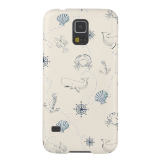 Nautical Sea Cases For Galaxy S5