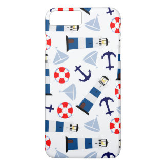 Nautical Sea Objects iPhone 7 Plus Case