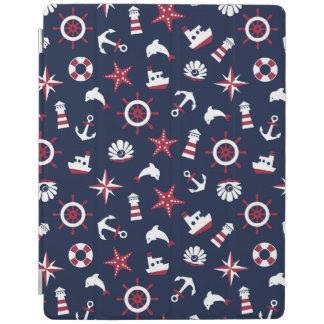 Nautical Sea Pattern iPad Cover