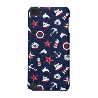 Nautical Sea Pattern iPod Touch (5th Generation) Covers