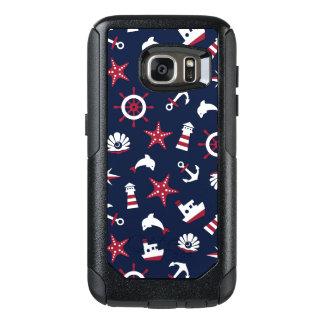 Nautical Sea Pattern OtterBox Samsung Galaxy S7 Case