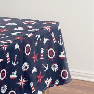 Nautical Sea Pattern Tablecloth