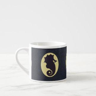 Nautical Seahorse Espresso Cup
