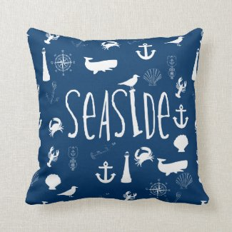 Nautical Seaside Cushion
