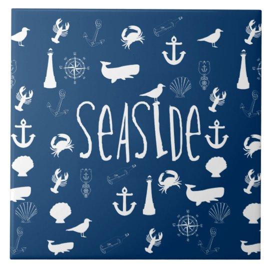 Nautical Seaside Tile