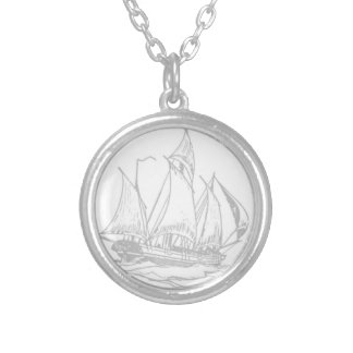 Nautical Ship Necklace