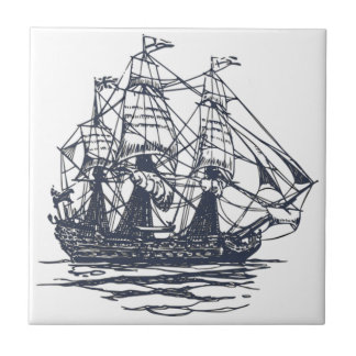 Nautical Ship Tile