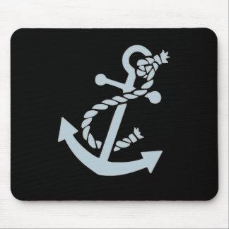 Nautical Ship's Anchor Ocean Mouse Mat