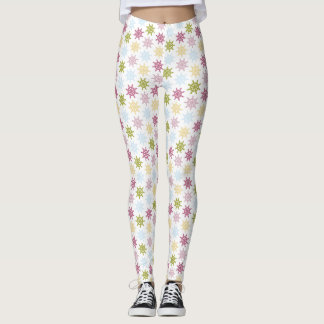 Nautical ships helm pattern leggings