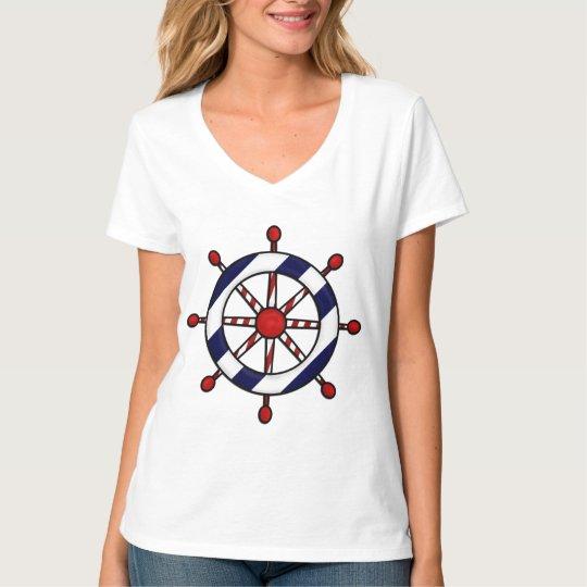 Nautical Ship's Wheel T-shirt