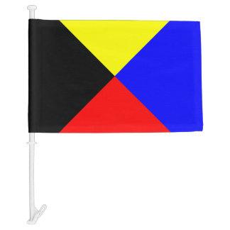 Nautical Sign Code Boat Flag Zulu Letter Z Car Flag