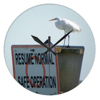 Nautical Sign Wall Clock