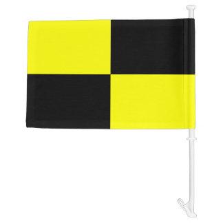 Nautical Signal Flag Lima Letter L Car Flag