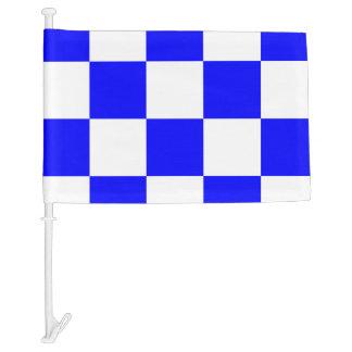 Nautical Signal Flag November Letter N Car Flag