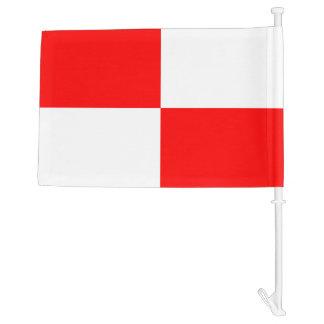 Nautical Signal Flag Uniform Letter U Car Flag