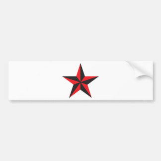 Nautical Star Bumper Sticker