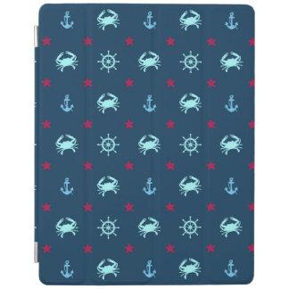Nautical Star Pattern iPad Cover