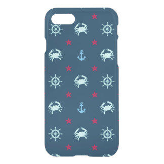 Nautical Star Pattern iPhone 8/7 Case
