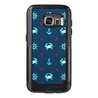 Nautical Star Pattern OtterBox Samsung Galaxy S7 Case