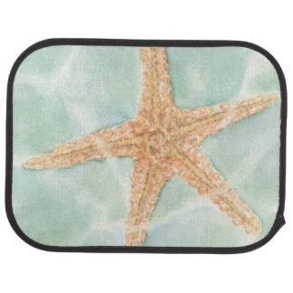 Nautical Starfish in Water Car Mat