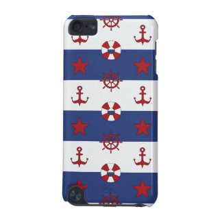 Nautical Stars And Stripes Pattern iPod Touch (5th Generation) Covers