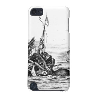 Nautical steampunk octopus vintage kraken drawing iPod touch 5G cases