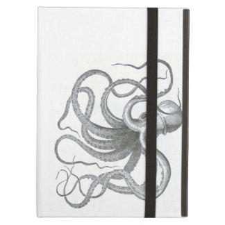 Nautical steampunk octopus Vintage kraken drawing iPad Air Case