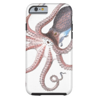 Nautical steampunk octopus vintage kraken science tough iPhone 6 case