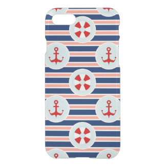 Nautical Stripes And Dots Pattern iPhone 8/7 Case