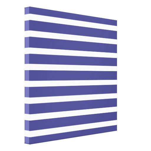 Nautical Stripes Gallery Wrap Canvas