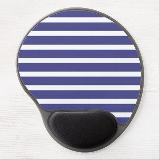 Nautical Stripes Gel Mouse Mat