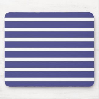Nautical Stripes Mouse Mat