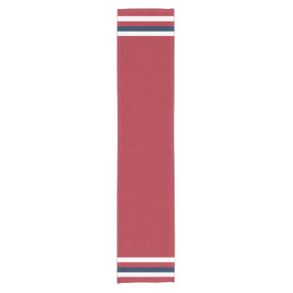Nautical Table Runner Red White and Blue