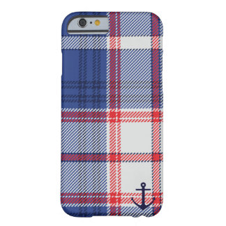 Nautical Tartan Barely There iPhone 6 Case