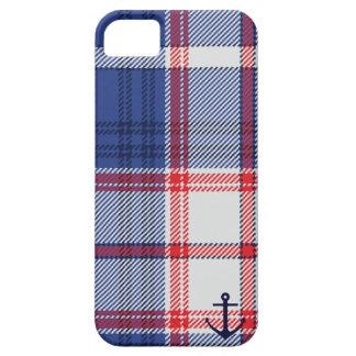 Nautical Tartan iPhone 5 Case