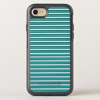 Nautical_Teal-Stripes(c)Apple_Samsung (c) OtterBox Symmetry iPhone 8/7 Case